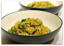 Ριζότο με κινόα (βασική συνταγή)
